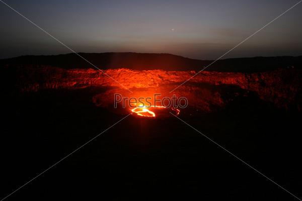 Фотография на тему Вулкан Эрта Але в Эфиопии