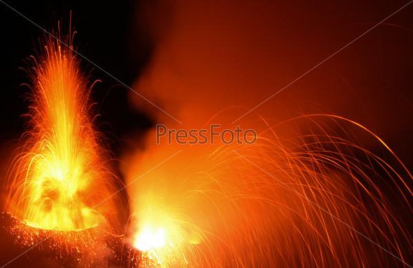 Фотография на тему Вулкан Стромболи