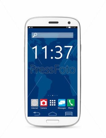 Фотография на тему Сенсорный экран смартфона