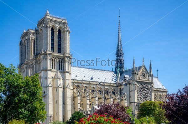 Фотография на тему Нотр-Дам, Париж