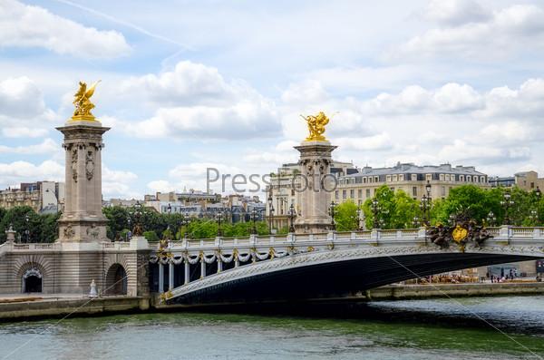 Мост Александра 3 в Париже