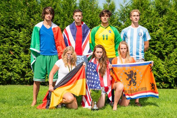 Международные спортивные команды