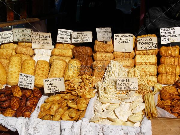 Национальный козий сыр в Польше