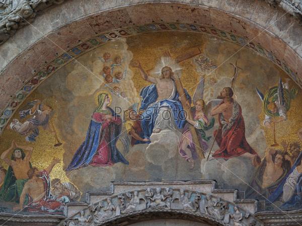 Мозаика на базилике Сан-Марко