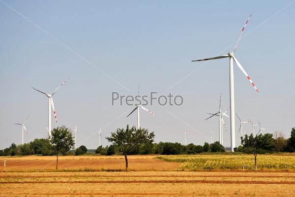 Экологичные ветровые турбины