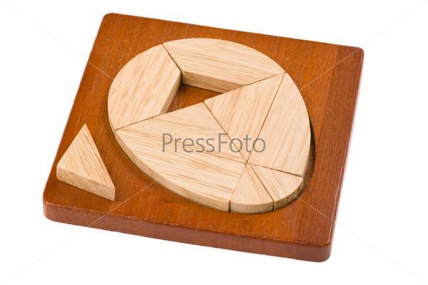 Загадка с геометрическими фигурами