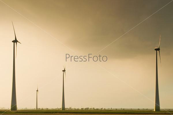 Фотография на тему Ветряные турбины