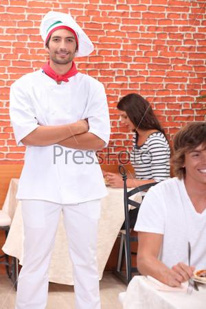 Повар в ресторане