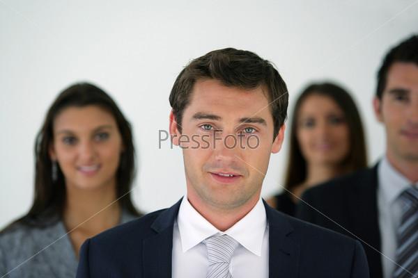 Фотография на тему Группа бизнесменов