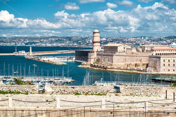 Форт Святого Николая в Марселе, Франция