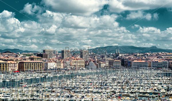Фотография на тему Старый порт Марселя, Франция