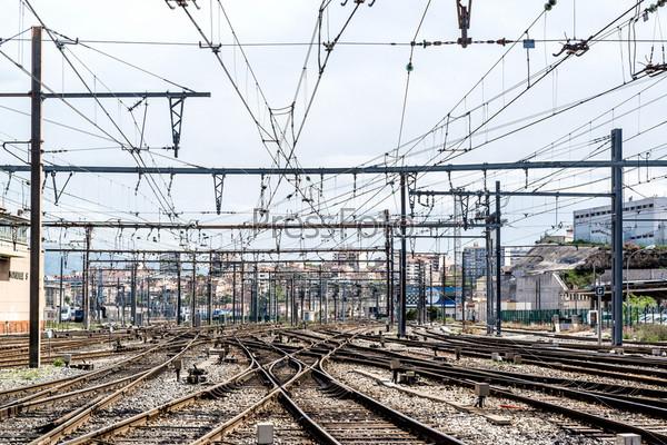 Железнодорожный вокзал Сен-Шарль, Марсель, Франция