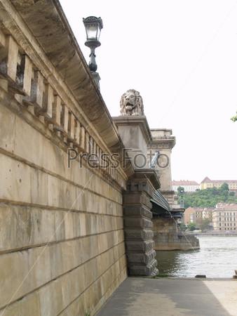 Цепной мост через Дунай, Будапешт