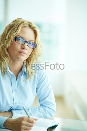 Бизнес-леди на работе