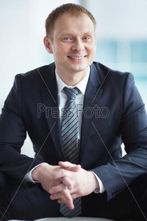 Счастливый бизнесмен