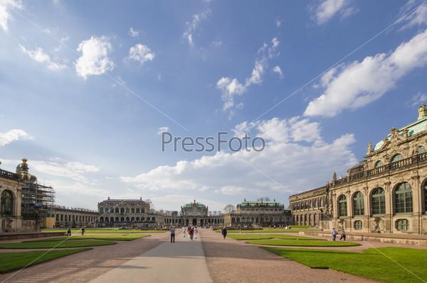 Площадь в городе Дрезден