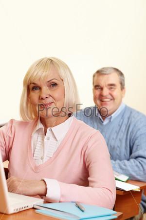 Пожилые студенты
