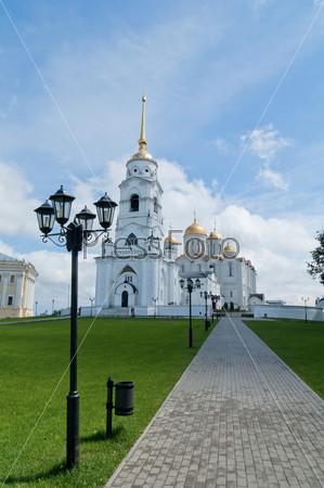 Православный собор в городе Владимир, Россия