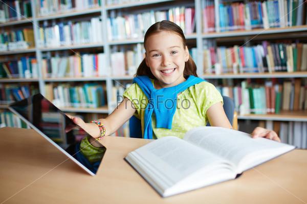 Фотография на тему Современная школьница