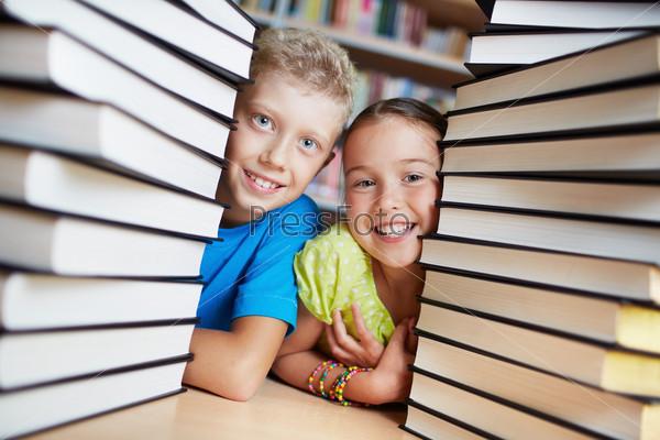 Фотография на тему Дети и книги