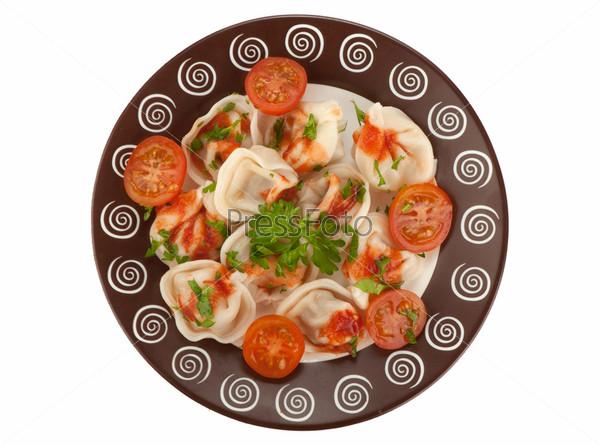 Фотография на тему Пельмени. Традиционная русская кухня