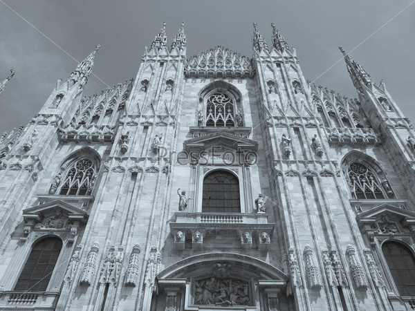 Фотография на тему Готический кафедральный собор, Милан, Италия