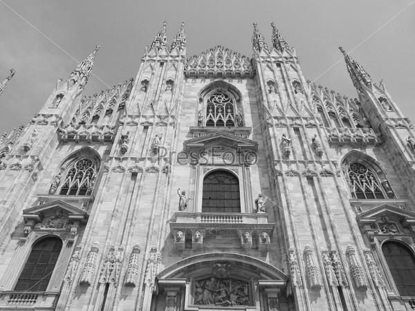 Готический кафедральный собор, Милан, Италия