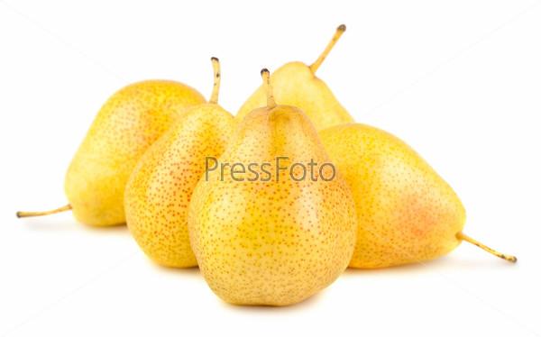 Фотография на тему Спелые желтые груши