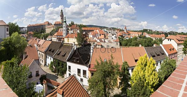 Центр исторического города Чешски Крумлов