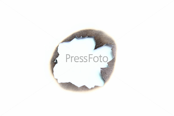 Фотография на тему Проженная бумага