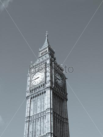Биг Бен, здание парламента, Вестминстерский дворец, готическая архитектура Лондона