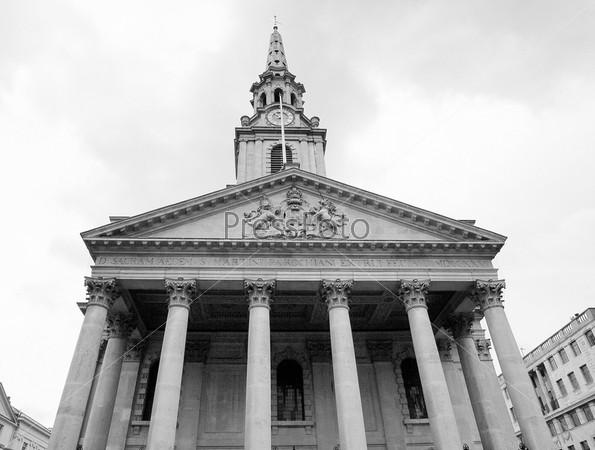 Церковь Святого Мартина на Трафальгарской площади, Лондон, Великобритания