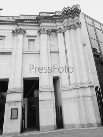 Национальная галерея, Трафальгарская площадь, Лондон, Великобритания