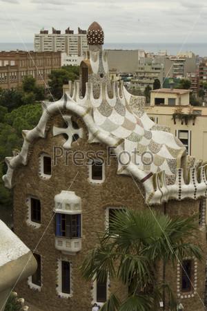 Фотография на тему Парк Гауди в Барселоне