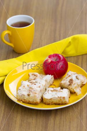 Фотография на тему Яблочный пирог