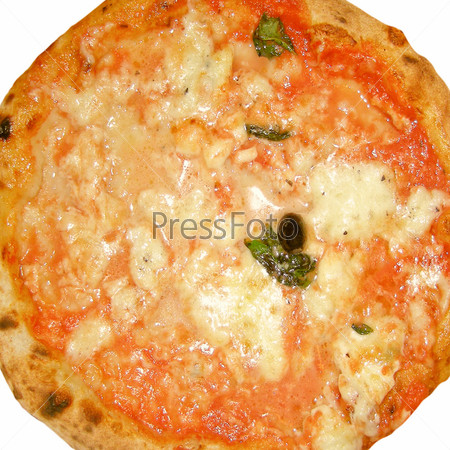 Фотография на тему Итальянская пицца Маргарита