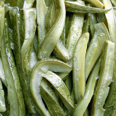 Зеленые кабачки или цуккини