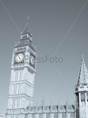 Фотография на тему Биг Бен, Вестминстерский дворец, Лондон, готическая архитектура