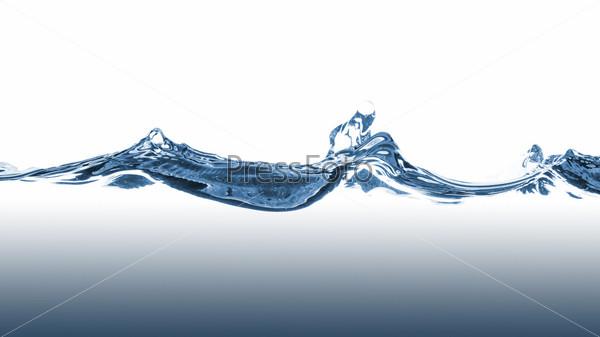Фотография на тему Волны голубой воды