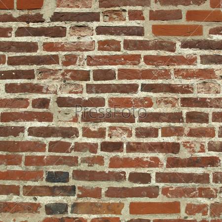 Фотография на тему Старая кирпичная стена