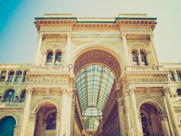 Галерея Витторио Эмануила II в Милане, Италия