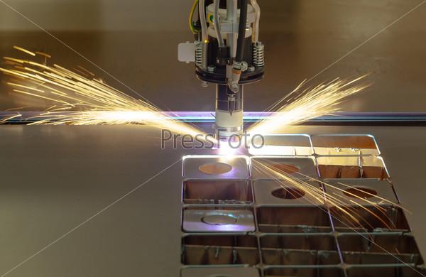 Фотография на тему Процесс плазменной резки