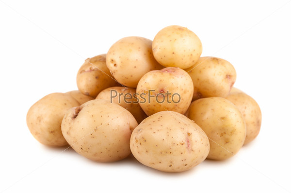 Фотография на тему Куча спелого сырого картофеля