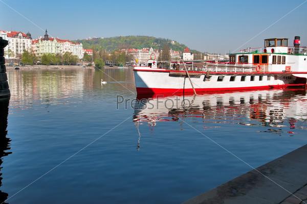 Фотография на тему Прага, река Влтава