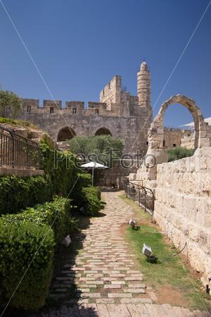 Фотография на тему Башня Давида в Старом городе Иерусалима