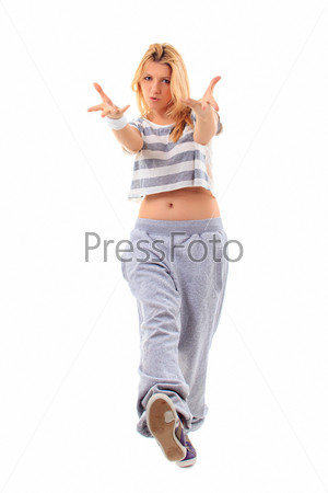 Фотография на тему Девушка в стиле хип-хоп