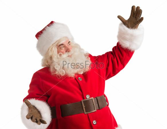 Портрет счастливого Санта-Клауса