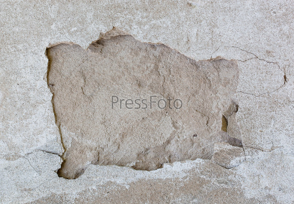 Винтажная старая стена с трещинами