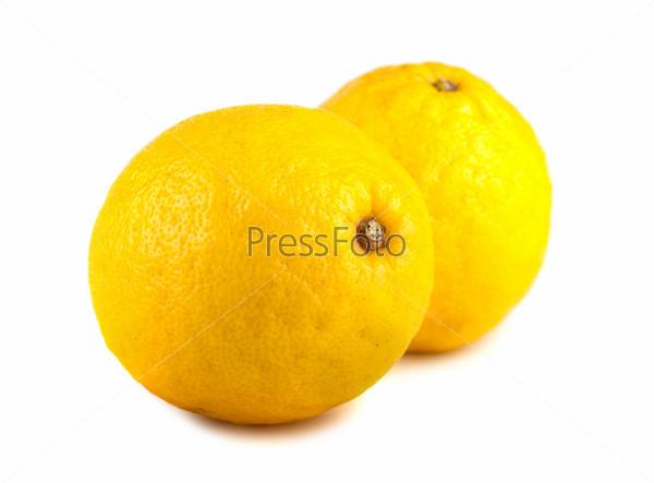 Фотография на тему Пара желтых лимонов