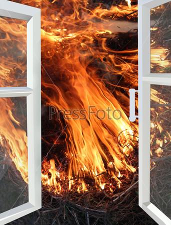 Окно, открытое в огонь